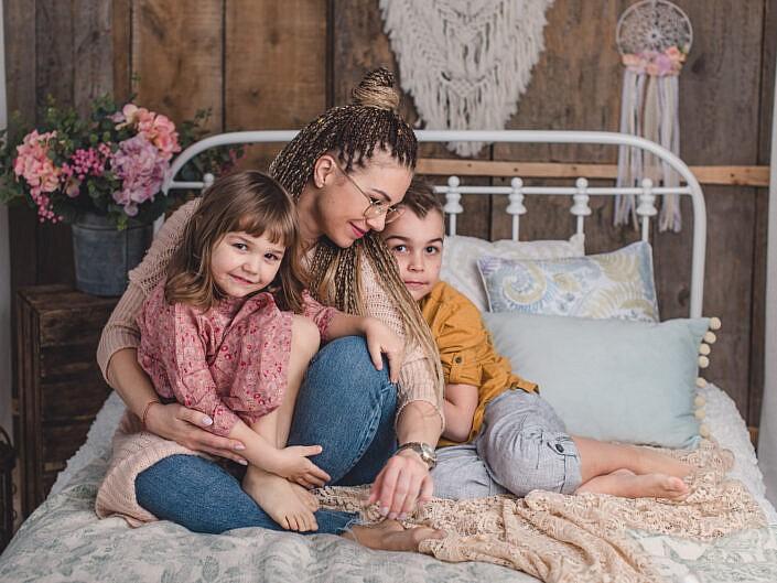 Karolina, Blanka i Borys