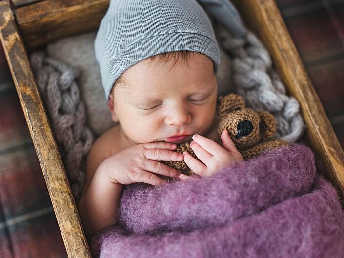 Ignaś – sesja noworodkowa