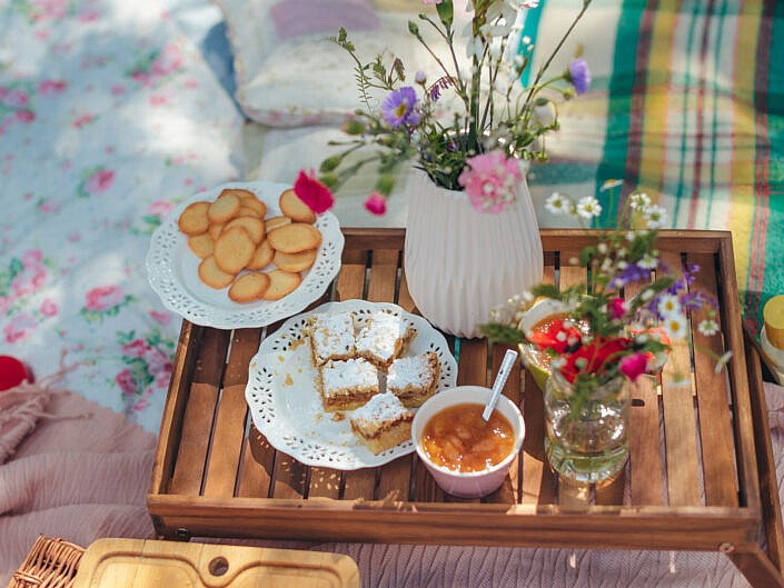 Foto piknik dla mam
