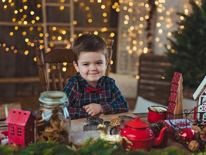 Świątecznie - Iza i Michał z dziećmi