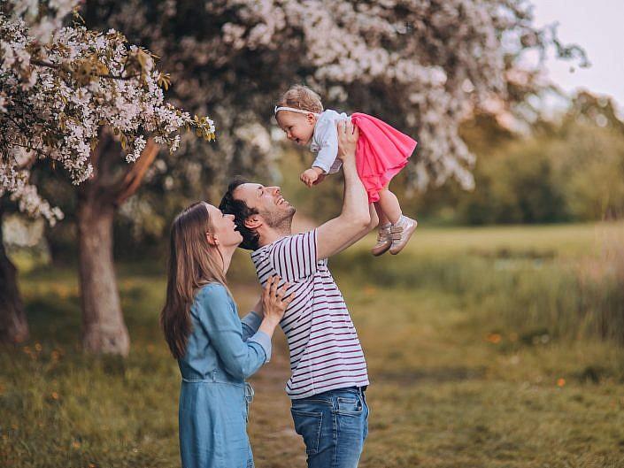 Roczek Kingi - sesja rodzinna